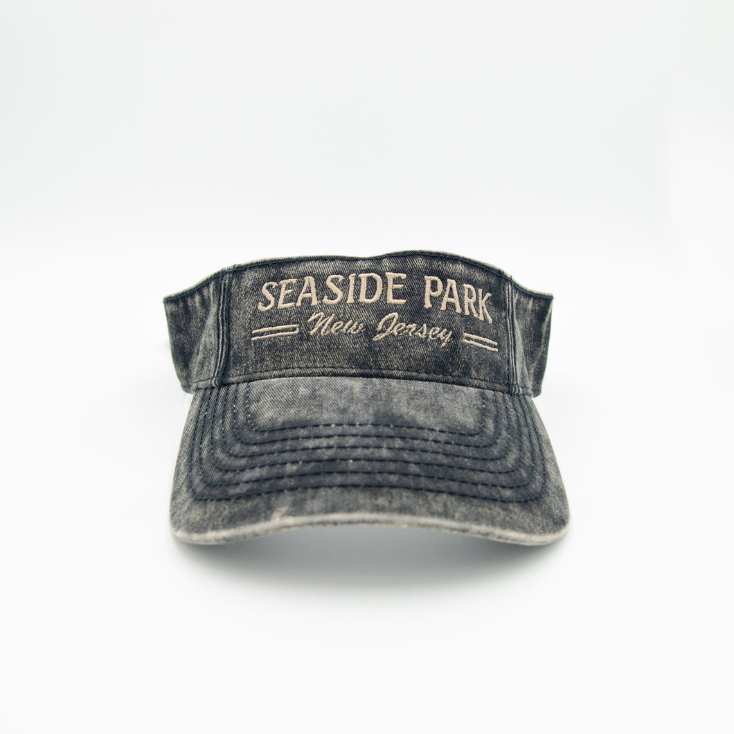 Seaside Park Visor Black
