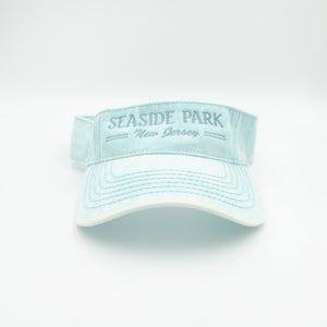 Seaside Park Visor Sea Foam