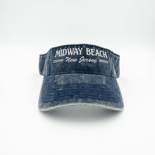 Load image into Gallery viewer, Midway Beach Visor Navy