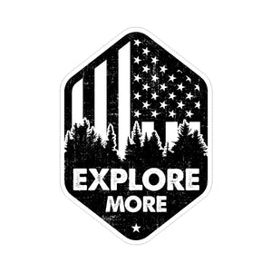 Sticker - Explore More Flag