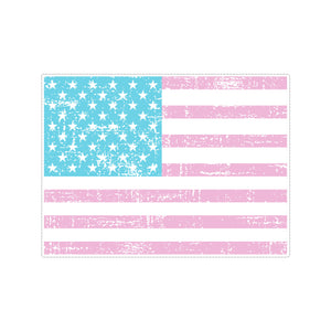 Sticker - American Flag Pastel