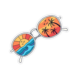 Sticker - Sunset Sunglasses