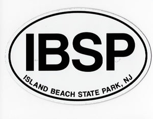 Island Beach State Park Auto Magnet