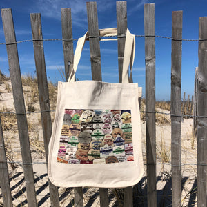 Tote Bag - Manasquan Beach Badges