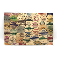 Wooden Sign - Manasquan Beach Badges