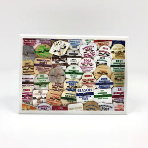 Magnet - Manasquan - Season Beach Badges