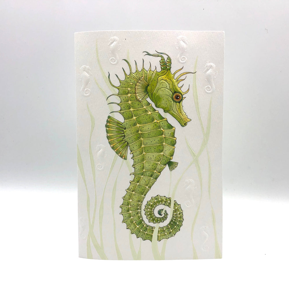 Greeting Card - Birthday - Seahorse