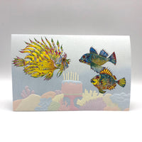 Greeting Card - Birthday - Fish Frenzy
