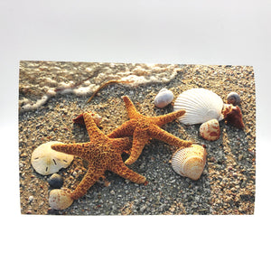 Greeting Card - Anniversary - Star Fish Pair