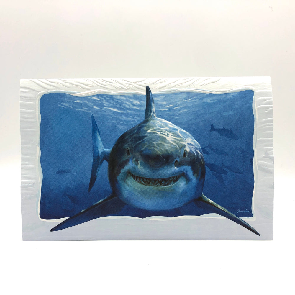 Greeting Card - Birthday - Smiley Shark