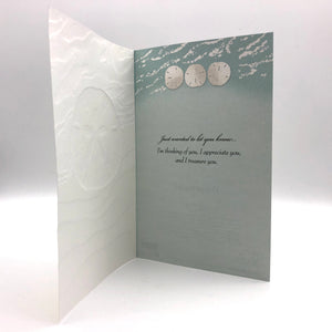 Greeting Card - Thinking of You - Ocean Currency