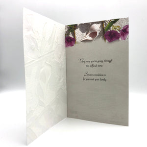 Greeting Card - Sympathy - Dune Flower and Shell