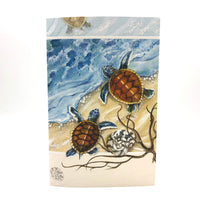 Greeting Card - Thank You - Two Turtles