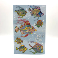 Greeting Card - Thank You - Thankful Fishes