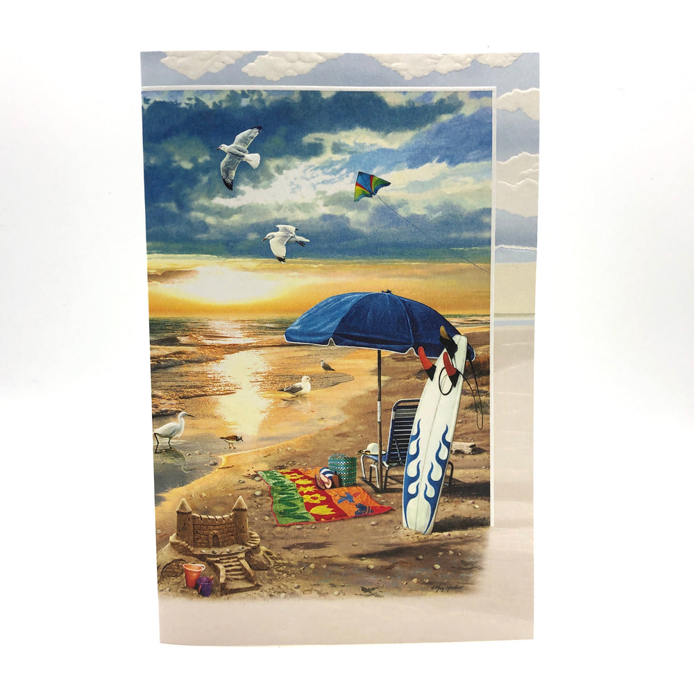 Greeting Card - Get Well - Summer Day Off