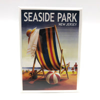 Magnet - Seaside Park - Beach Ball and Chair
