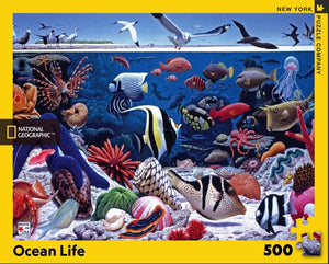 Puzzle - National Geographic - Ocean Life