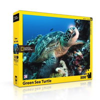 Puzzle - National Geographic - Green Sea turtle