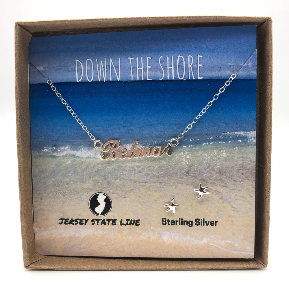 Belmar - Shore Town Necklace - Sterling Silver