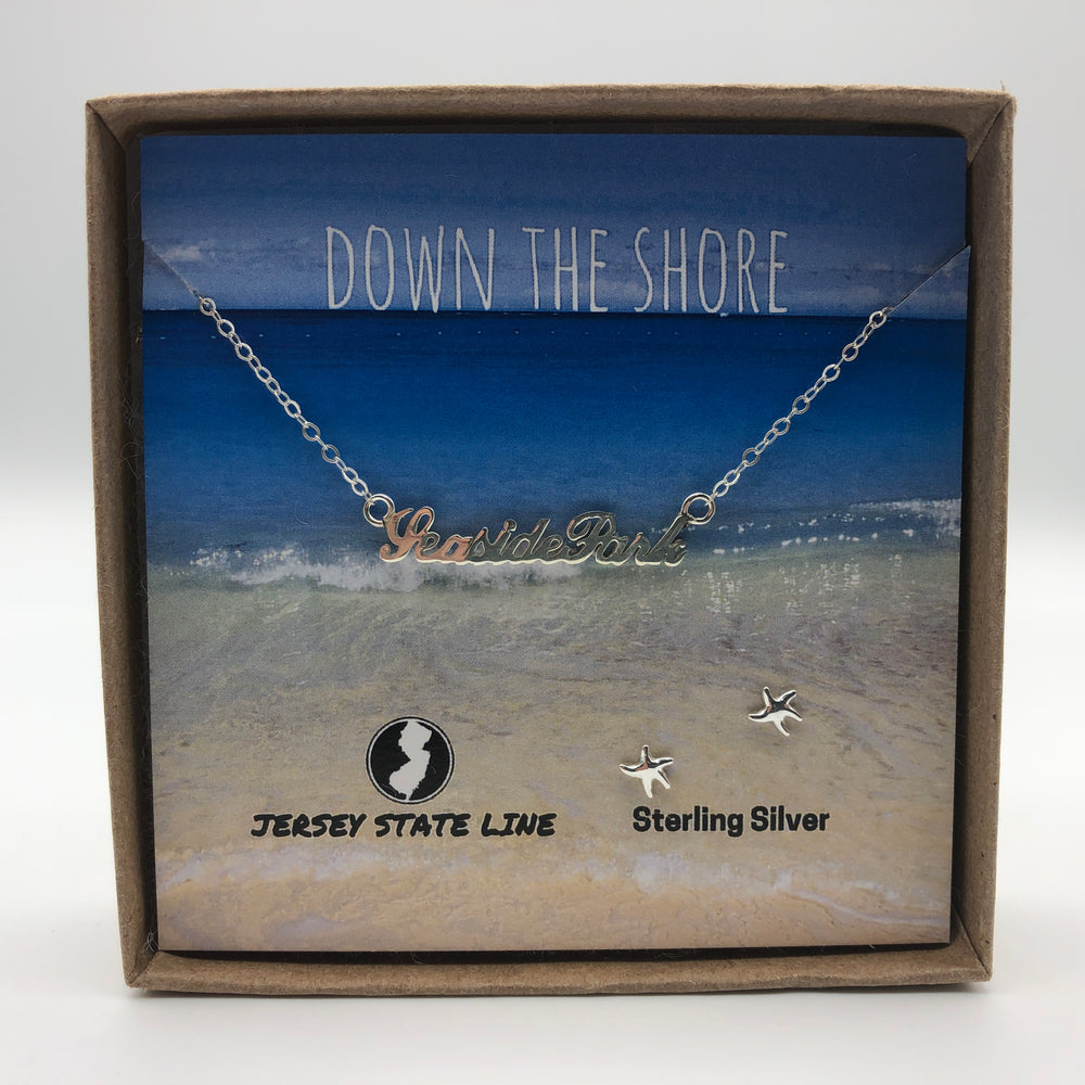 Seaside Park - Shore Town Necklace - Sterling Silver