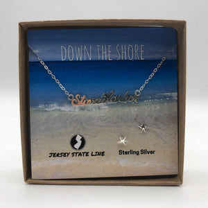 Stone Harbor - Shore Town Necklace - Sterling Silver