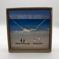Bay Head - Shore Town Necklace - Sterling Silver