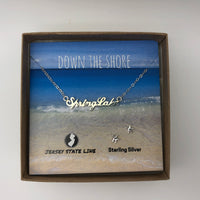 Spring Lake - Shore Town Necklace - Sterling Silver