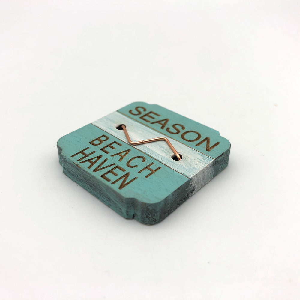 Beach Badge Magnet - Brick Beach