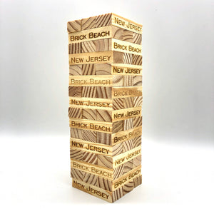 Jenga Tower Game - Brick Beach