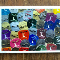 Lavallette Beach Badges Magnet