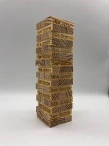 Jenga Tower Game - Ship Bottom