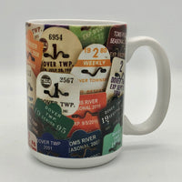 Coffee Mug - Ortley Beach Badges