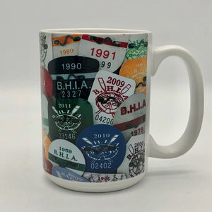 Coffee Mug - Bay Head Beach Badges