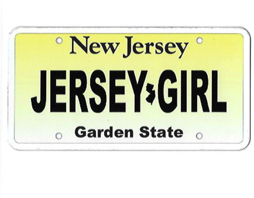 Jersey Girl License Plate Auto Magnet