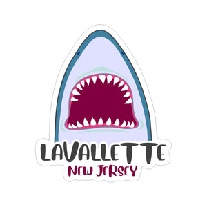 Sticker - Lavallette - Cartoon Jaws