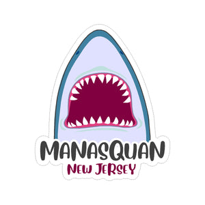Sticker - Manasquan - Jaws