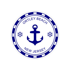 Sticker - Ortley Beach - Blue Anchor