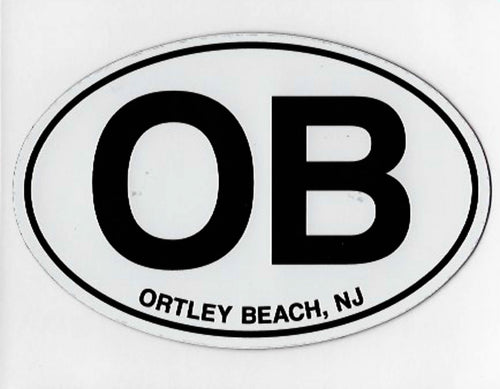 Ortley Beach Euro Decal