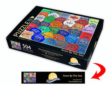 Avon By The Sea Beach Badge Puzzle