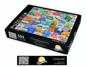 Seaside Park Beach Badge Puzzle