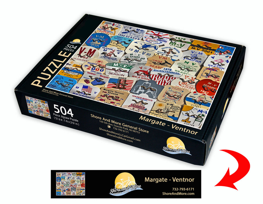 Margate - Ventnor Beach Badge Puzzle