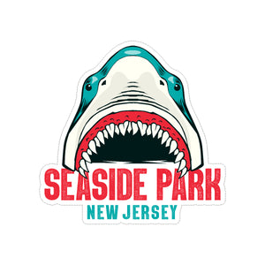 Shark Seaside Park Sticker