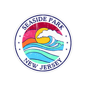 Sticker - Seaside Park - Sun & Wave Round
