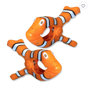 Boca Towel Clips - Clown Fish