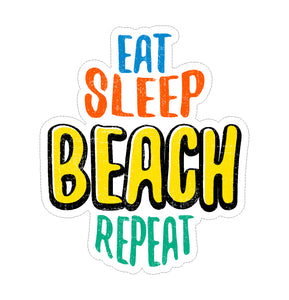 Sticker - Eat Sleep Beach Repeat