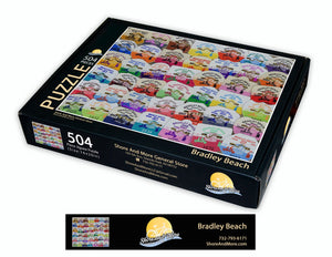 Bradley Beach Badge Puzzle
