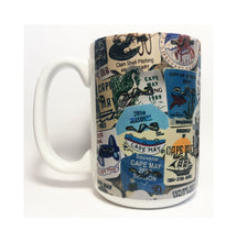 Load image into Gallery viewer, Coffee Mug - Cape May Beach Badges
