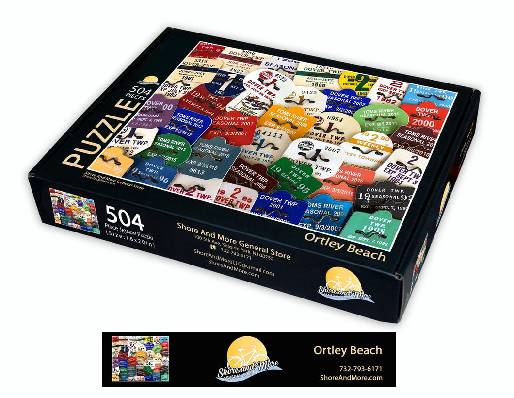 Ortley Beach Badge Puzzle
