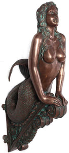 Mermaid Bronze Wall