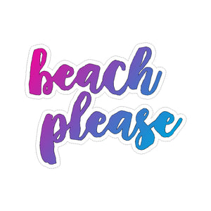 Sticker - Beach Please
